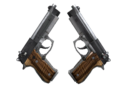 Dual Berettas Черная лимба