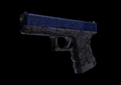 Glock-18 Синяя трещина