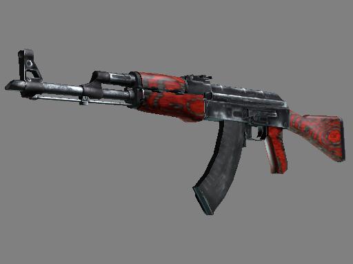 AK-47 Красный глянец