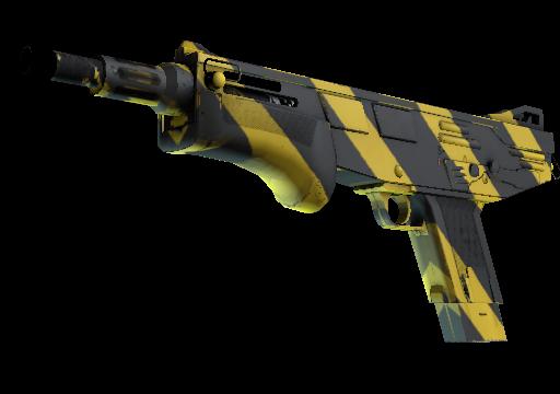 MAG-7 Желто-черные полосы