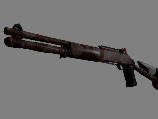 XM1014 Красный питон
