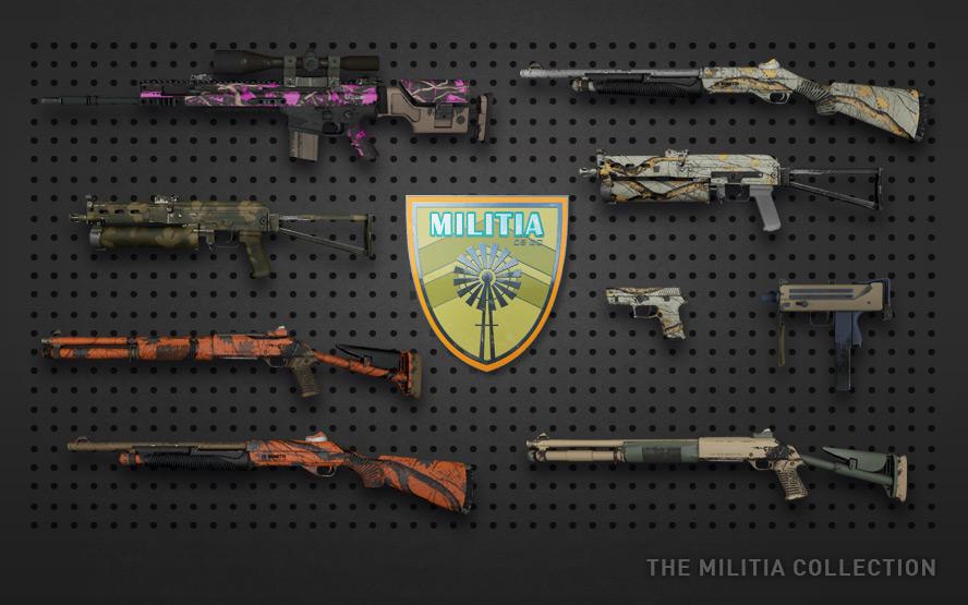 Коллекция «Militia»