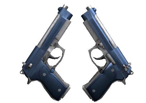 Dual Berettas Анодированная синева
