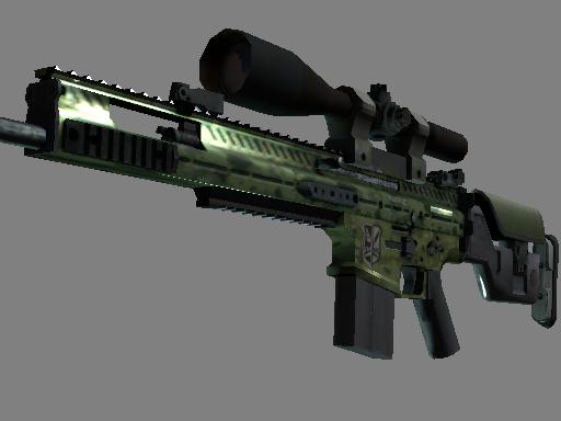 SCAR-20 Зелёный морпех