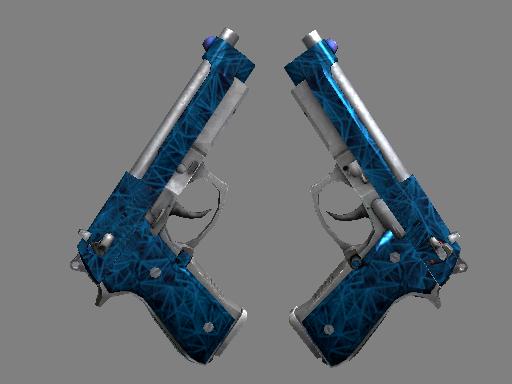 Dual Berettas Синий кварц