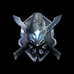 Наклейка | Легенда (металлическая)