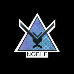 Наклейка | Ноубл (голографическая)