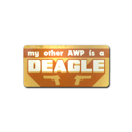 Наклейка | Запасной AWP