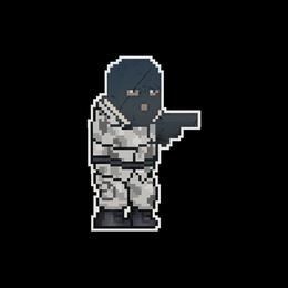 Наклейка | Пиксельный мститель