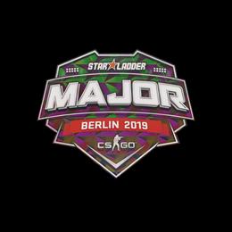 Наклейка | StarLadder (голографическая) | Берлин 2019