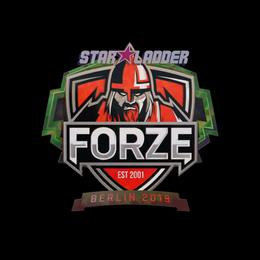 Наклейка | forZe eSports (голографическая) | Берлин 2019