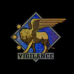 Наклейка | Бдительность (голографическая)