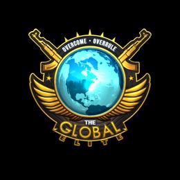 Наклейка   Всемирная элита (голографическая)