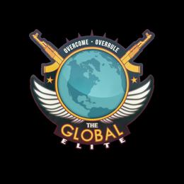 Наклейка   Всемирная элита