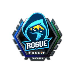 Наклейка | Rogue (металлическая) | Лондон 2018