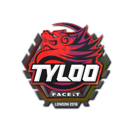 Наклейка | Tyloo (голографическая) | Лондон 2018