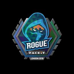 Наклейка | Rogue (голографическая) | Лондон 2018