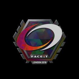 Наклейка | compLexity Gaming (голографическая) | Лондон 2018