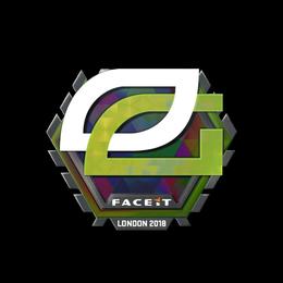 Наклейка | OpTic Gaming (голографическая) | Лондон 2018
