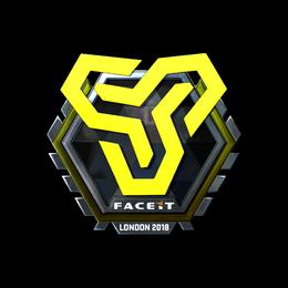 Наклейка | Space Soldiers (металлическая) | Лондон 2018