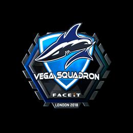 Наклейка | Vega Squadron (металлическая) | Лондон 2018