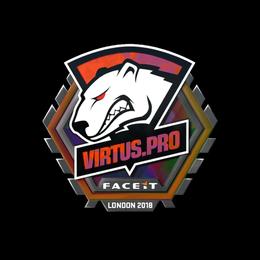 Наклейка | Virtus.Pro (голографическая) | Лондон 2018