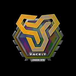 Наклейка | Space Soldiers (голографическая) | Лондон 2018