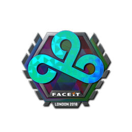 Наклейка   Cloud9 (голографическая)   Лондон 2018