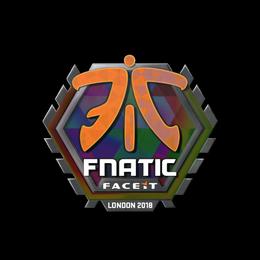 Наклейка   Fnatic (голографическая)   Лондон 2018