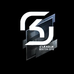 Наклейка | SK Gaming (металлическая) | Бостон 2018