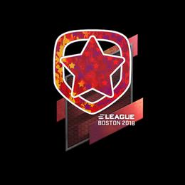 Наклейка | Gambit Esports (голографическая) | Бостон 2018