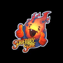 Наклейка | Дружественный огонь