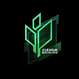Наклейка | Sprout Esports (металлическая) | Бостон 2018