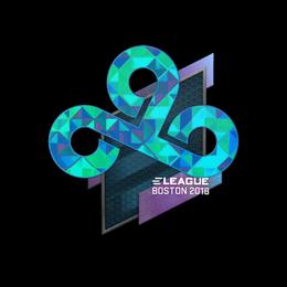Наклейка | Cloud9 (голографическая) | Бостон 2018