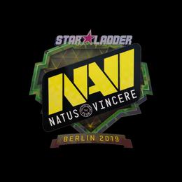 Наклейка | Natus Vincere (голографическая) | Берлин 2019