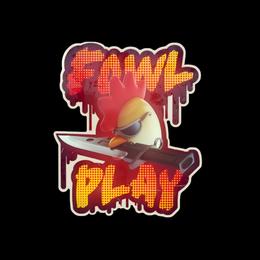 Наклейка | Птичьи игры