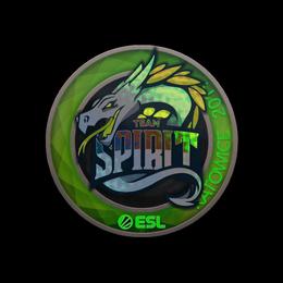 Наклейка | Team Spirit (голографическая) | Катовице 2019