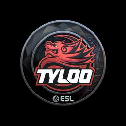 Наклейка | Tyloo (металлическая) | Катовице 2019