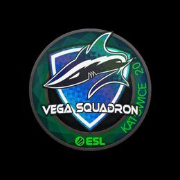 Наклейка | Vega Squadron (голографическая) | Катовице 2019