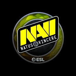 Наклейка   Natus Vincere (металлическая)   Катовице 2019
