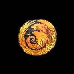 Наклейка | Возрождение феникса