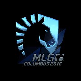 Наклейка | Team Liquid (металлическая) | Колумбус 2016
