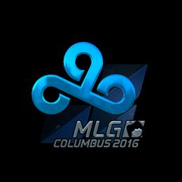 Наклейка | Cloud9 (металлическая) | Колумбус 2016