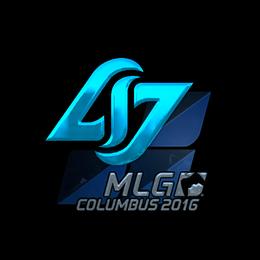 Наклейка | Counter Logic Gaming (металлическая) | Колумбус 2016