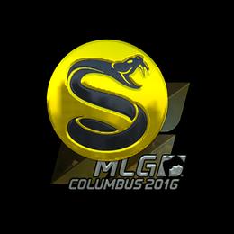 Наклейка | Splyce (металлическая) | Колумбус 2016