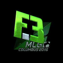 Наклейка | Flipsid3 Tactics (металлическая) | Колумбус 2016