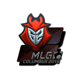 Наклейка | G2 Esports (металлическая) | MLG Columbus