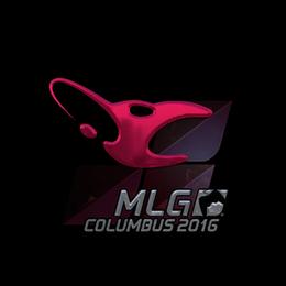 Наклейка | mousesports (металлическая) | Колумбус 2016