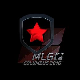 Наклейка | Gambit Gaming (металлическая) | Колумбус 2016