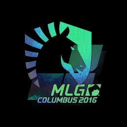 Наклейка | Team Liquid (голографическая) | Колумбус 2016